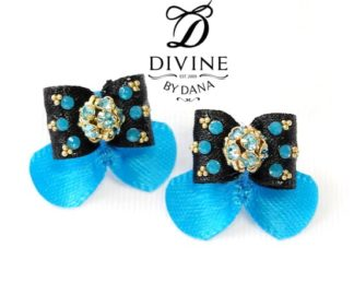Divine by Dana - Maltese show bow - Double topknot