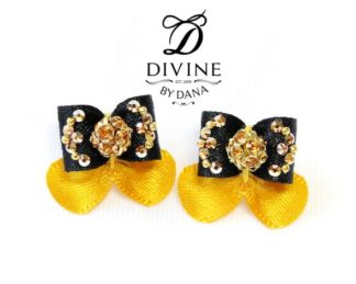Divine by Dana - Maltese show bows - Double topknot