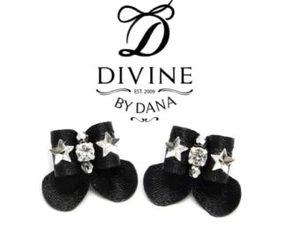 Maltese double topknot show bows called Divine Star